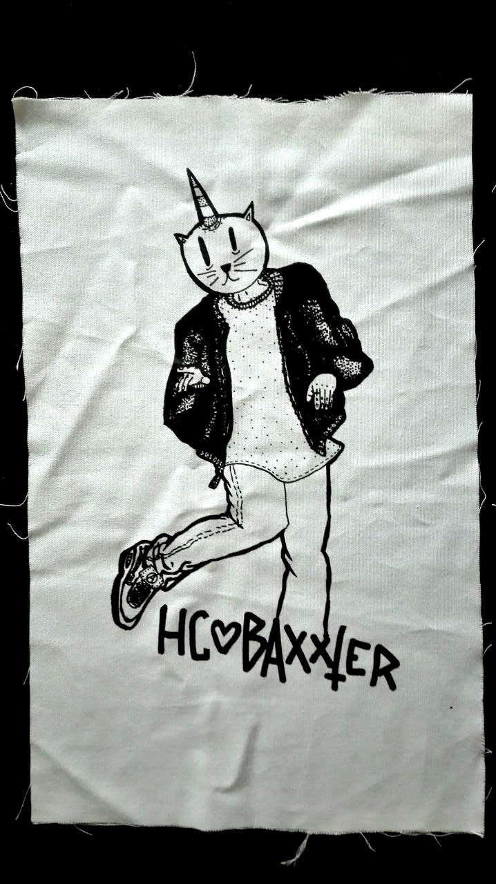 Dancecat Backpatch